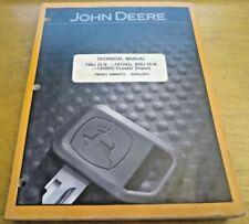 John Deere 750J 850J Crawler Dozer Technical Service Manual TM2261 - OEM Factory