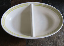 Franciscan Earthenware Hacienda Green Divided Dish