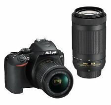 Nikon D3500 24.2MP CMOS Digital Camera with 18-55mm and 70-300mm AF-P Lenses