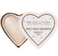 Makeup Revolution Blushing Hearts Highlighter Goddess of Faith - New Release