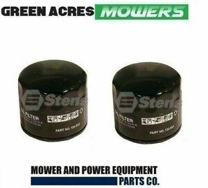 2 X  OIL FILTERS FOR BRIGGS AND STRATTON MOTORS 492932 , 492058 , 120-485