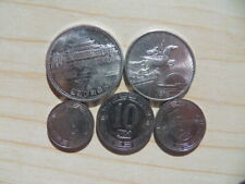 KOREA Circulating Coins 1959-1987,Complete set of 5 Pcs