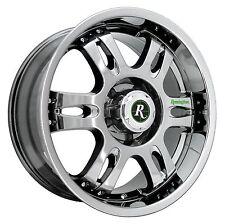 (1) REMINGTON Wheels Rims TROPHY 18x9.0 6x135 et25 Bright Chrome