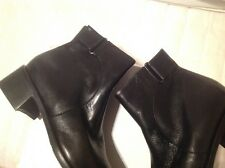 Black leather toggle boot brand new size 4
