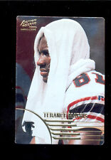 1995 AP TERANCE MATHIS Atlanta Falcons Rookie&Stars STAR GAZERS Insert Card