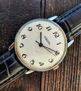 Men's Dress Wrist Watch Raketa Watch Vintage Watch Classic Watch Soviet USSR