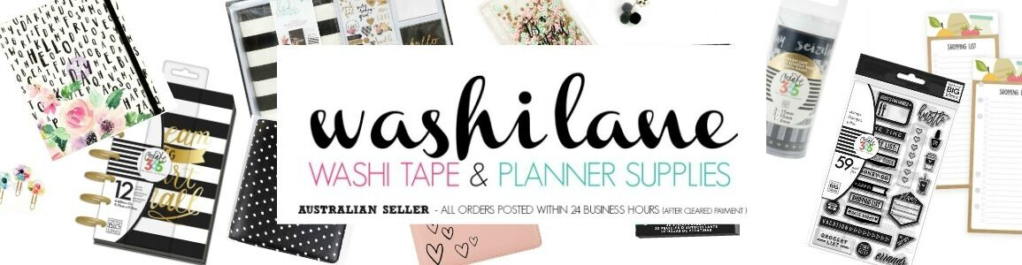WASHI LANE - WASHI & PLANNER SHOP