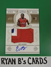 2010-11 Playoff National Treasures ERIC BLEDSOE Rookie Patch Auto 19/86 SP! WOW!
