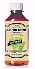 CLOUD N9NE Natural - Green Apple -118mg HEMP OIL FREE-SHIPPING SEALED NEW BOTTLE