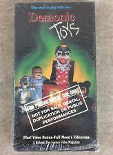 Demonic Toys VHS Full Moon Video Horror Promotional Demo