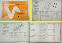 Honda XL185S Parts List Ersatzteile Teilekatalog Catalogue de Pieces 1981