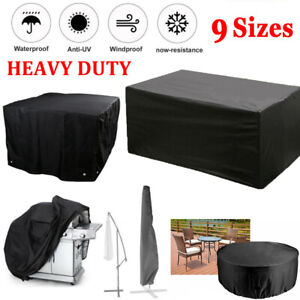 Heavy Duty Waterproof Garden Patio Furniture Cover for Outdoor Rattan Table Cube