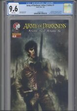 """Army of Darkness: Ashes 2 Ashes #1 CGC 9.6 2004 Devil""""s Due B Templesmith Cover1"""
