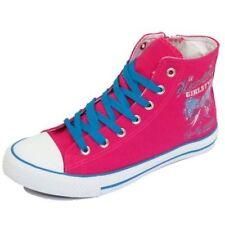 Scarpe rosa con cerniera per bambine dai 2 ai 16 anni