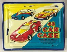 Vintage Car Case Matchbox Hot Wheels Mini Die Cast Vehicles 1980s Tara Toy 20300