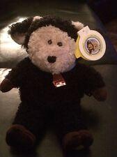 STARBUCKS BEARISTA BEAR - BLACK SHEEP WITH BELL - 2004 - 31ST EDITION - Mint