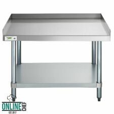 "30"" x 36"" Stainless Steel Commercial Restaurant Kitchen Equipment Stand Home Bar"
