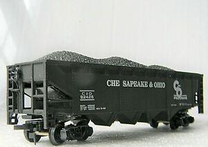 Bachmann 42' Quad Hopper Rd# C&O 92426 CHESAPEAKE OHIO W/COAL - Box - HO