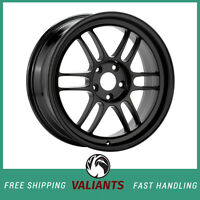 Enkei RPF1 18x9.5 5x114.3 15mm Offset 73mm Bore Black Wheel - 379-895-6515BK