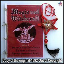 antique book magic occult esoteric witchcraft grimoire masonry satanic lucifer 1