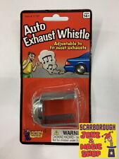Car Exhaust Whistle ~ Classic Retro Joke Prank Trick For Wannabe Boy Racers