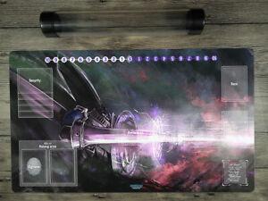 DTCG Dukemon Playmat Digimon Adventure Trading Card Game CCG Mat Free Best Tube