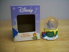 Disney Eyore Winnie the Pooh XMas Happy Holidays Snow Globe Adorno de Navidad
