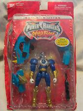 Power Rangers Fuerza Salvaje: DELUXE AZUL Primal Guerrero POWER RANGER