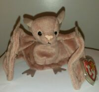 Ty Beanie Baby - BATTY the Brown Bat - MINT with MINT TAGS