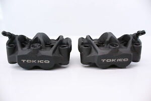 HONDA CB1000R CBR1000RR CBR600RR TOKICO RIGHT LEFT FRONT BRAKE CALIPER SET PAIR