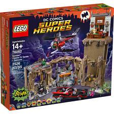 LEGO 76052 DC COMICS SUPER HEROES BATMAN CLASSIC BATCAVE NUEVO JUBILADO