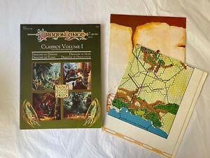Advanced Dungeons and Dragons D&D Dragonlance Classics Volume 1 TSR 9291