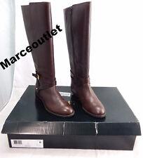 Lauren Ralph Lauren Mariah Burnished Boots 6.5B $179.00 BROWN