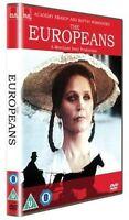 The Europeans Lee Remick Tim Woodward Robin Ellis Canal 4GB Región 2 DVD Nuevo