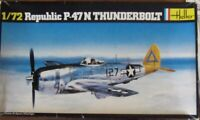 Heller 1/72 Republic P-47N Thunderbolt WW2 fighter complete boxed