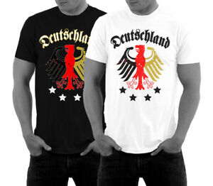 WM Shirt Deutschland Trikot Fussball T-Shirt Weltmeisterschaft EM Fan Adler NEU