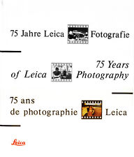 75 Years of Leica Photography splendido libro ed.Verena Frey 1991 D390