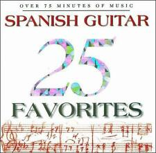 Spanish Guitar 25 Spanish Guitar Favorites CD Brand New Factory Sealed