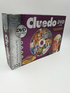 Cluedo DVD Board Game Parker Games VGC 100% Complete Free Post