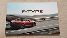 Jaguar F-Type 2011/2 Sale Brochure