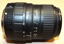 Sigma Zoom Lens 70-210mm UC-II f/4-5.6 for Canon SLR Cameras