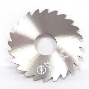 """Fullerton 2450033 Carbide Jeweler's Saw 1-1/4"""" x 3/8"""" x 0.030"""" 24T 2450 (2 Pcs)"""