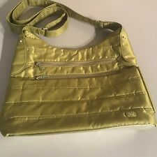 Lug Crossbody Bag Travel Green Purse Excellent Condition
