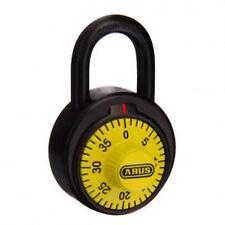 Bike Padlock, Bicycle Lock-ABUS-German Quality-Yellow-7850NYELC