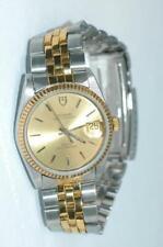 Tudor Prince OysterDate automatic Gold Bezel 34mm Watch ref. 74033 - Nice Ex++!