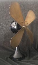Vintage schwerer antiker Ventilator AEG WVE 5 20er Jahre 8,8 kg Design Behrens