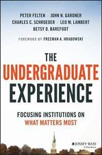 The Undergraduate Experience: Focusing Institutions on What Matters Most
