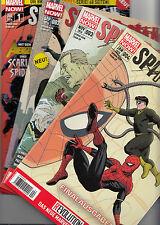 SPIDER-MAN TEAM-UP (deutsch) # 1+2+3+4 KOMPLETT - MARVEL NOW - PANINI 2014 - TOP