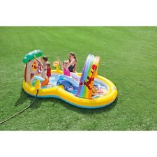 PISCINA GONFIABILE CON SCIVOLO BAMBINI INTEX PLAYCENTER WINNIE THE POO 57136