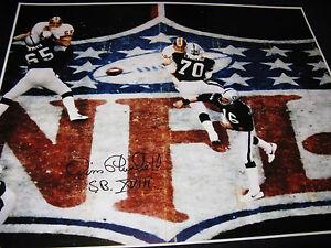 Jim Plunkett Oakland Raiders Signed 16x20 Photo PSA SB XVIII